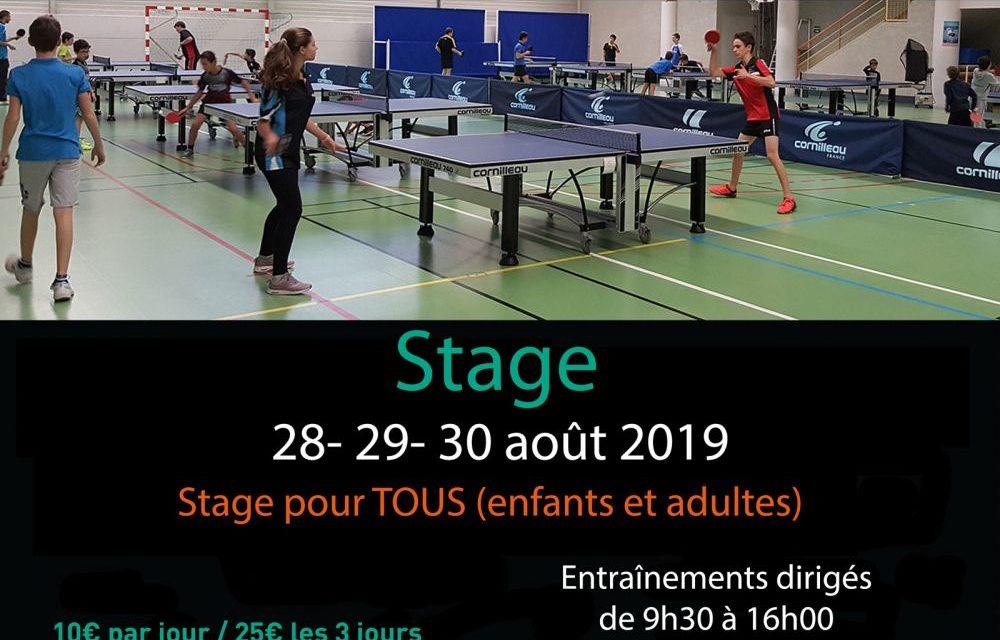 Stage de reprise du Comité Loire Haute-Loire
