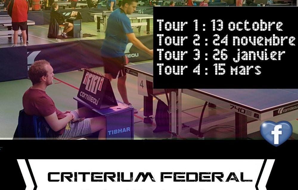 Critérium Fédéral